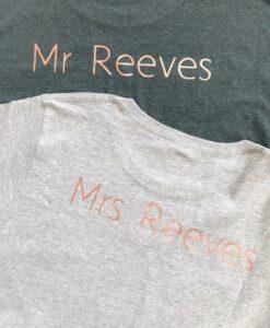 wifey tshirt grey