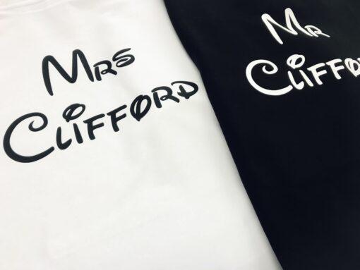 personalised mrs hoodie