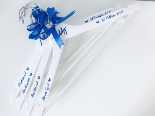 personalised bridesmaid hangers