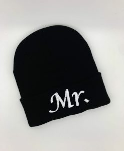 personalised mr beanie hat