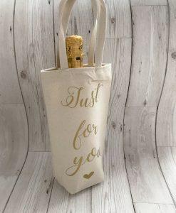 just for you bottle bag