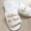 personalised wedding role slippers