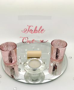 table number signs for wedding day