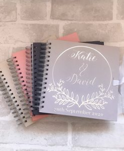 personalised guest book
