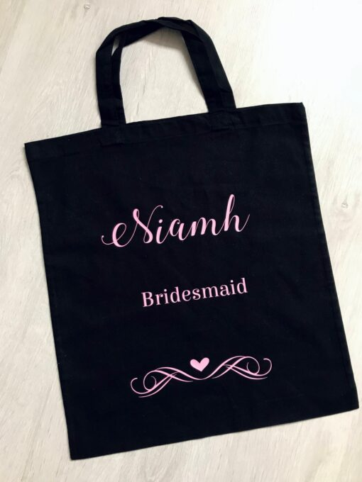 wedding role canvas bag
