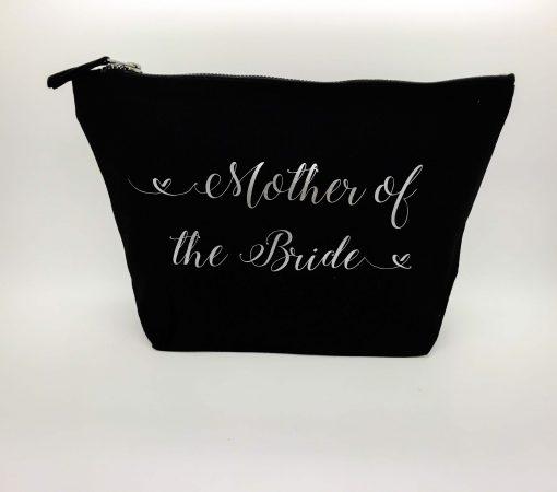 personalised wedding role makeup bag