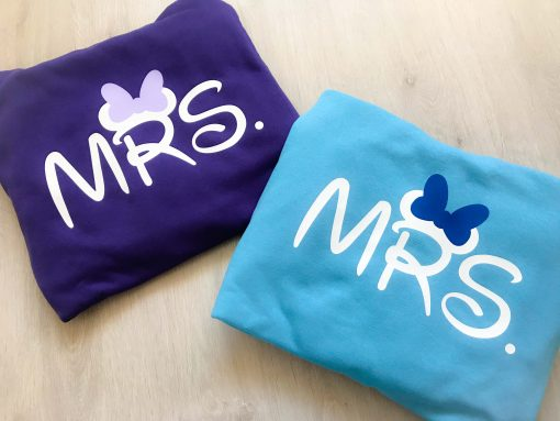 mr and mrs blue hoodie