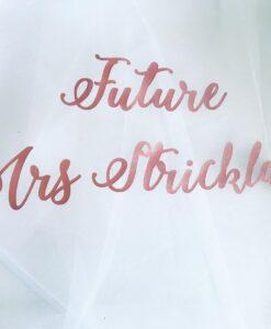 future mrs veil for hen do