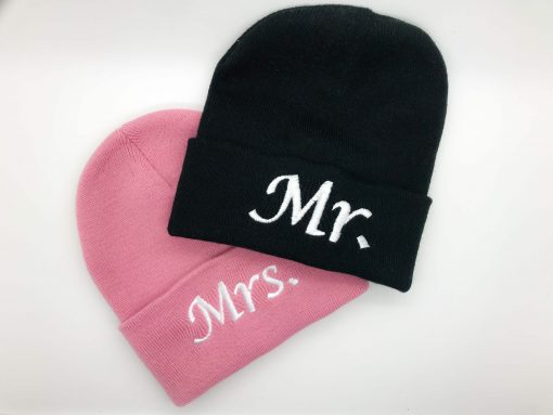personalised embroidered beanie hat