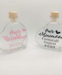 honeymoon sand bottle
