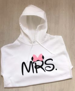 personalised mrs disney hoodie
