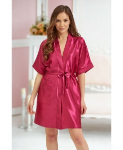 future mrs satin robe