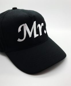 mr embroidered cap