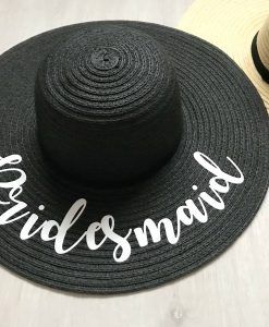 wedding role sun hat