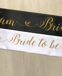 team bride hen party sash