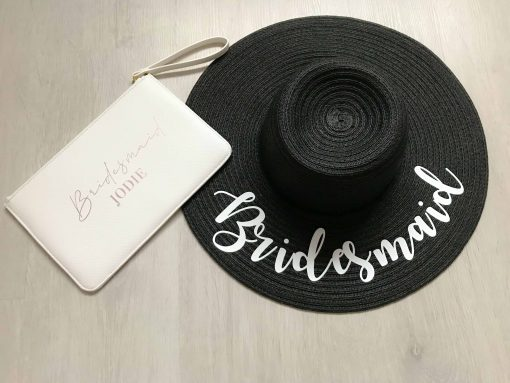 personalised travel kit for bridesmaid