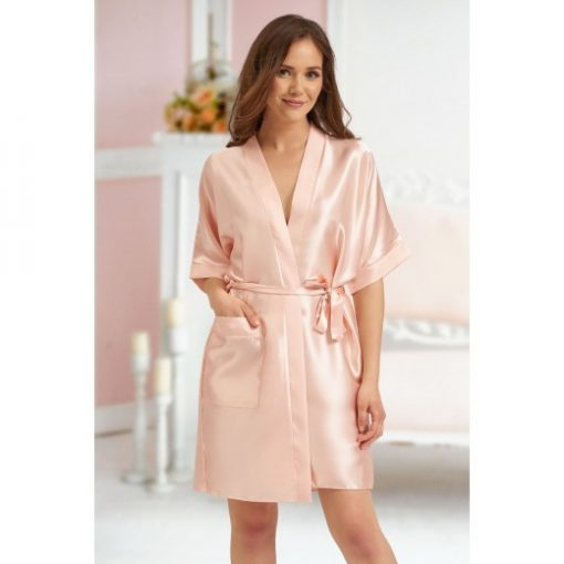 personalised wedding role robe nude