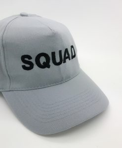 groom squad embroidered cap