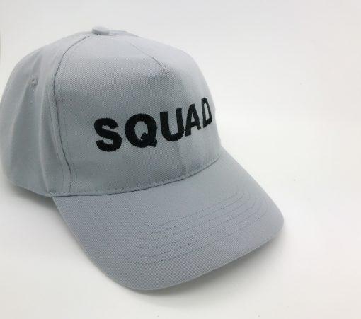 groom squad embroidered cap
