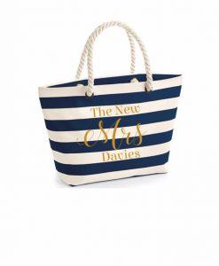 the new mrs beach bag