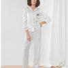 personalised monogram bridesmaid pyjamas