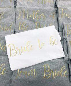 bride to be pyjamas
