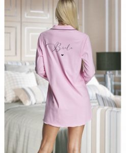 personalised cotton night shirt for bride