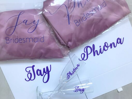 bridesmaid proposal box gift set