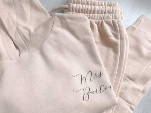 personalised mrs hoodies