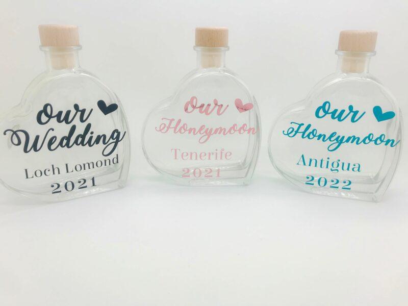 honeymoon sand bottles