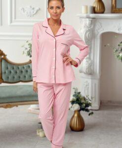 personalised long cotton pyjamas
